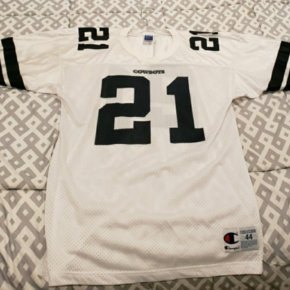 new arrival d5037 5ca7e Deion Sanders Cowboys Jersey . CHAMPION Brand.